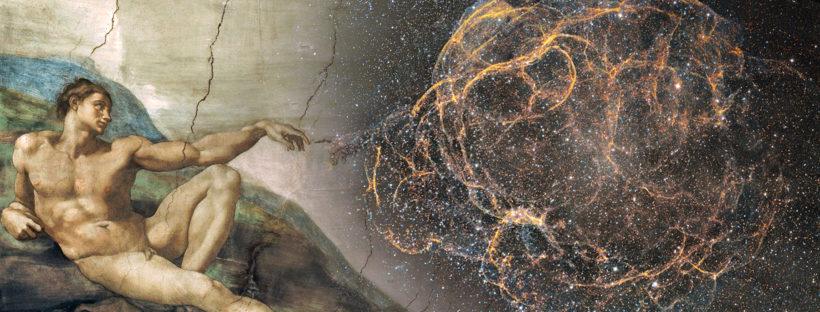 The creation of Adam   by J-P Metsavainio